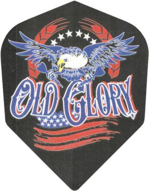 POLY SHAPE DART FLIGHTS - OLD GLORY