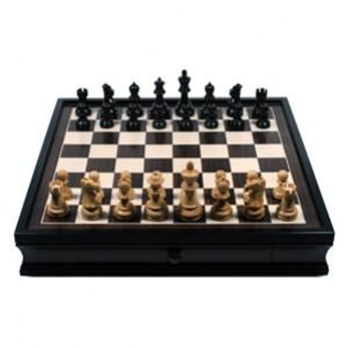 Englsh Chess Set with Storage Drawers