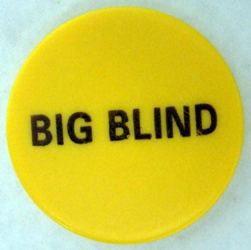 "Big Blind Button 2"" Diameter"