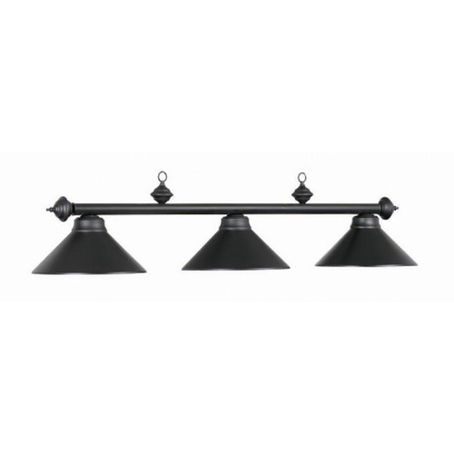 RAM MATTE BLACK POOL TABLE LIGHT