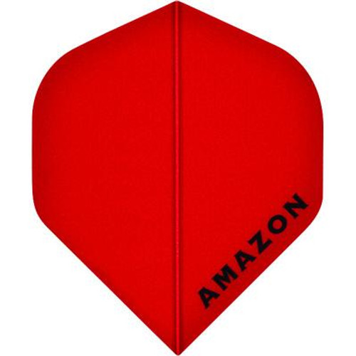 Amazon Standard Dart Flights-Red