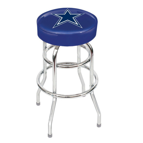 Dallas Cowboy Backless Bar Stool