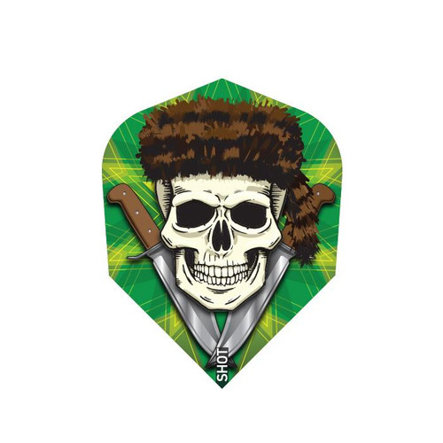 Shot Darts Wild Frontier Trapper Flights - Small Standard