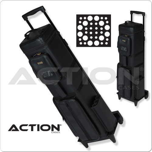 Action AC1224 12B/24S Traveling Dealers Case