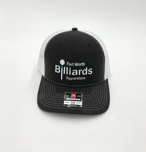 FWBS Black & White Snapback Hat