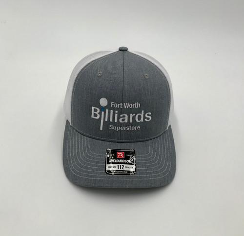 FWBS Grey & White Snapback Hat