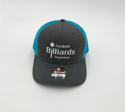 FWBS Charcoal & Blue Snapback Hat