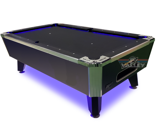 VALLEY 7' PANTHER LED POOL TABLE