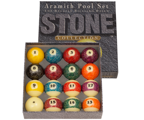 ARAMITH STONE POOL BALL SET