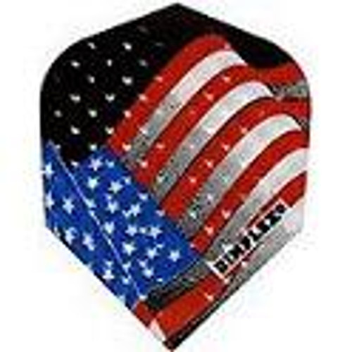 SHAPE DART FLIGHTS - DIMPLEX WITH US FLAG