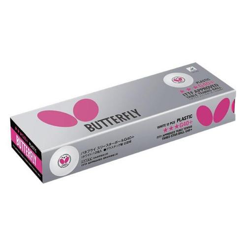 Butterfly 3 Star G40+ Balls 12-Pack
