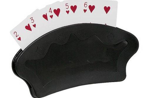 2 PIECE FAN CARD HOLDER