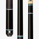 Lucasi Custom Mystic Black & Turquoise LZD5 Cue