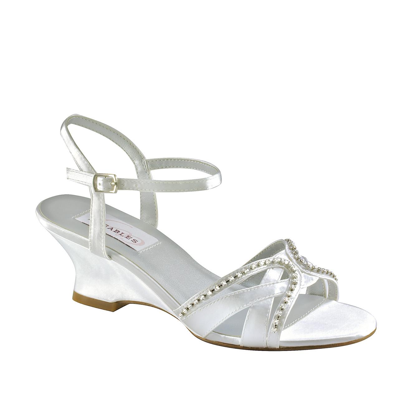 1dc28febd3 Dyeables Women's Peg Wedge Sandal - ShoeMars.com
