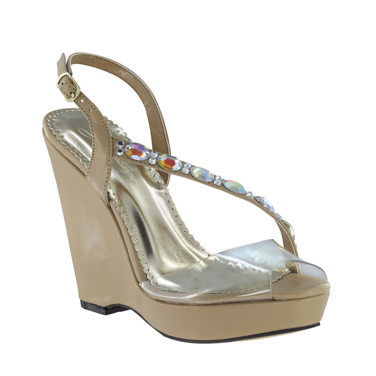 Johnathan Kayne Women's Wedge Sandal
