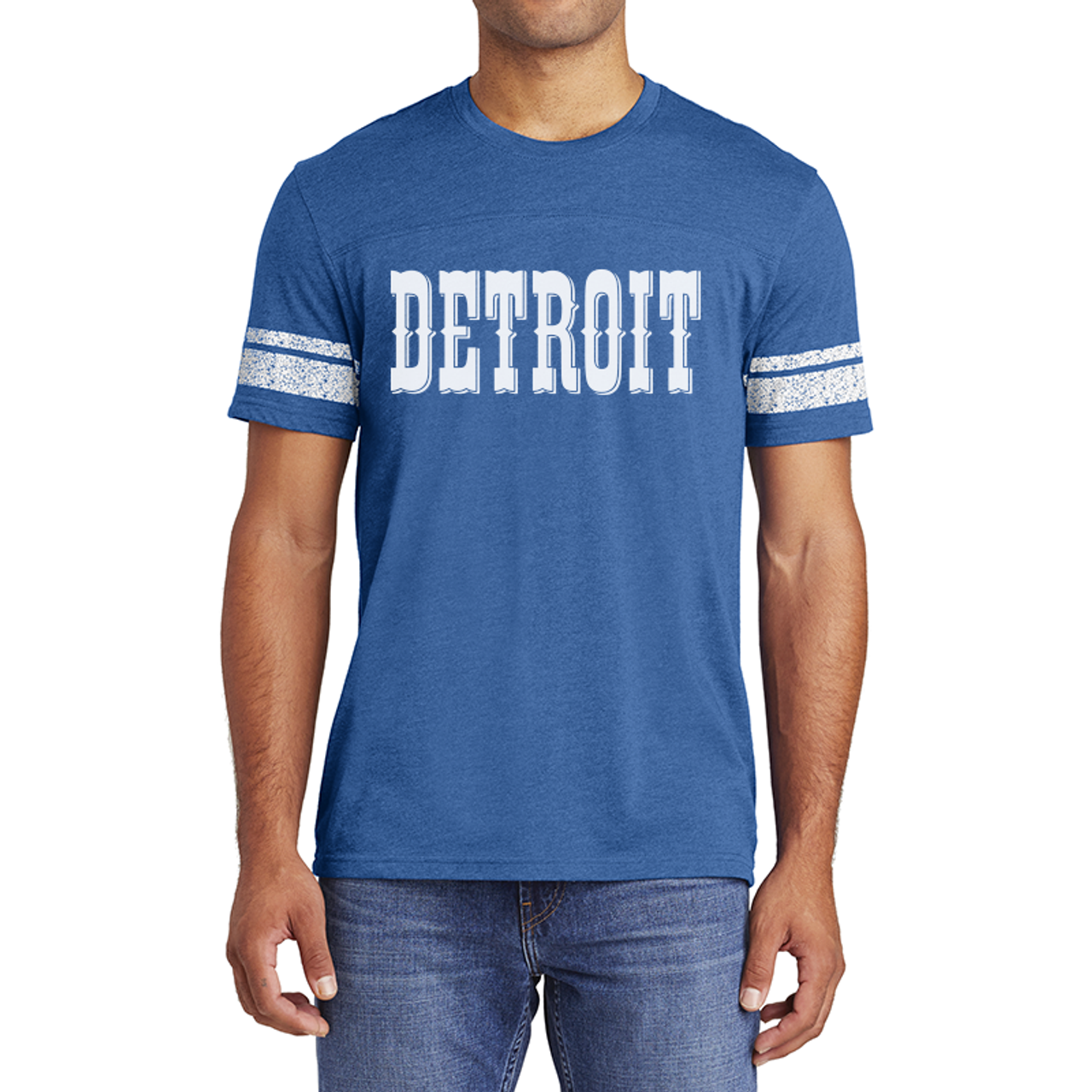 sale retailer ce075 5e5f5 Motor City Bad Boys Heather Royal Detroit Circus Game Tee