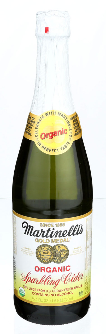 Martinelli S Organic Sparkling Apple Cider Elm City Market