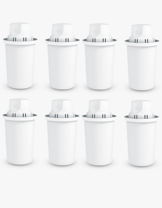 Dafi Standard Water Pitcher Replacement Filter 8 Pack Made In Europe BPA-Free