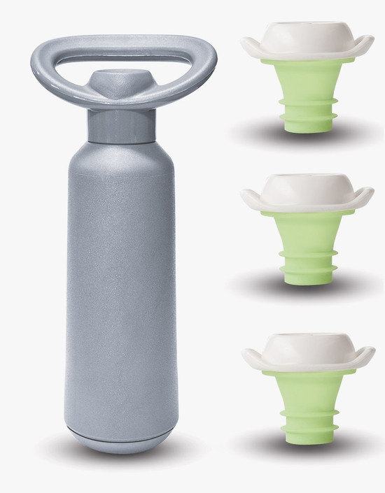 Dafi Vacuum Bottle Sealer and Stoppers Made In Europe BPA-Free