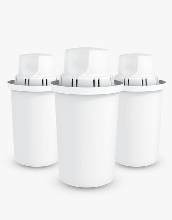 Dafi Standard Water Pitcher Filter 3 Pack Fits Brita, Pur Made In Europe BPA-Free
