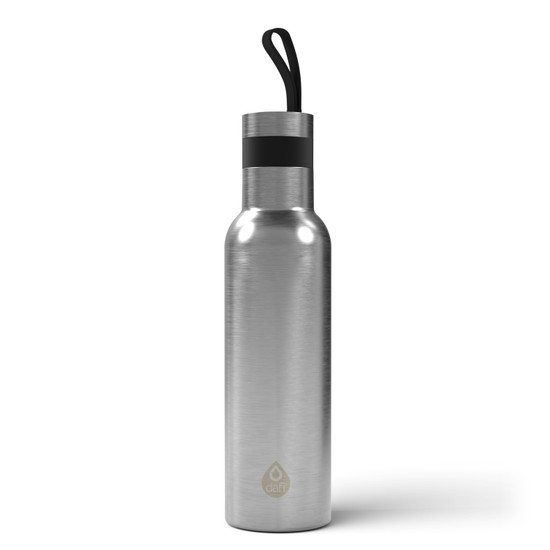 Dafi Double Walled Insulated Stainless Steel Thermal Bottle 17 fl oz Made in Europe BPA Free