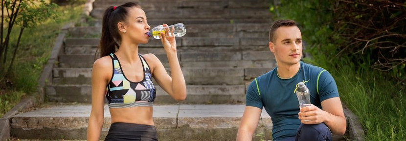 Proper Amount of water to drink before, during and after a workout.