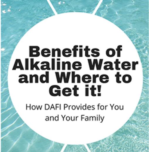 What is alkaline water?