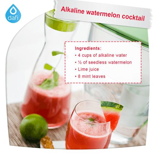 Alkaline Watermelon Cocktail