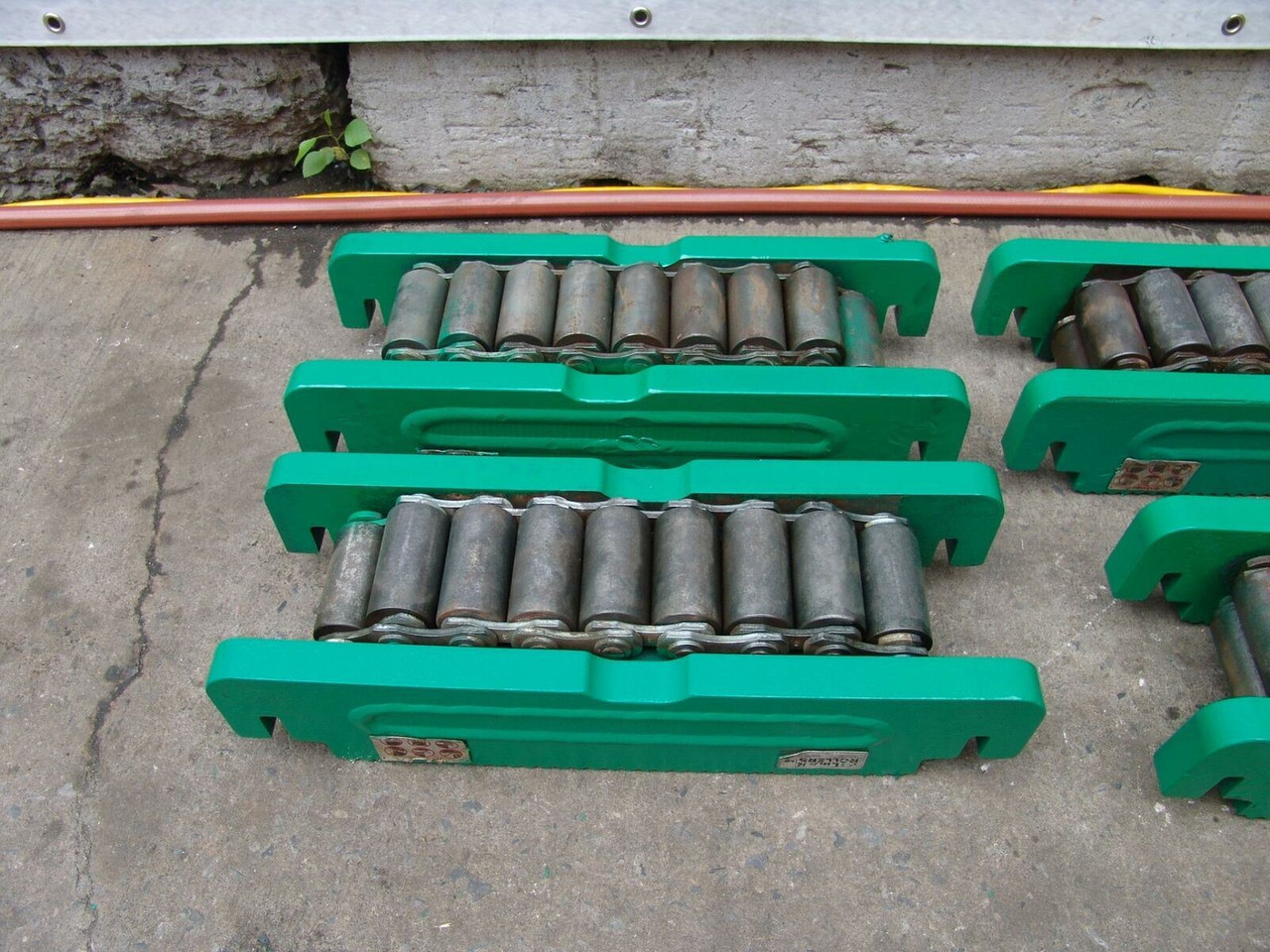 HILMAN 400 TON ROLLERS MACHINERY MOVERS SET OF 4 100 TONS EACH NICE SET  #2