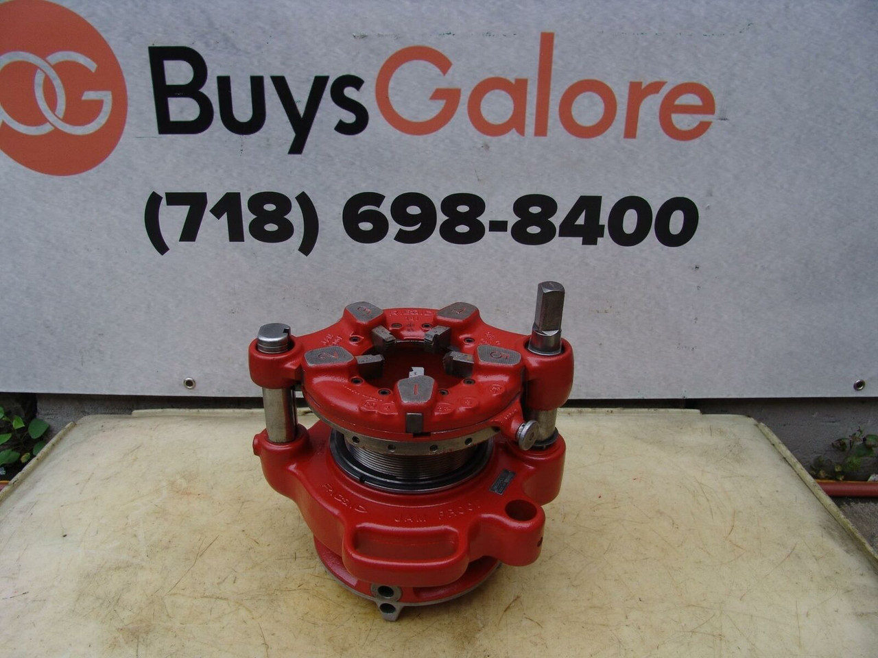 "Ridgid 141 Die Pipe Threader 1/2 to 4"" for 300 535 Threading Fully Refurbished 3"