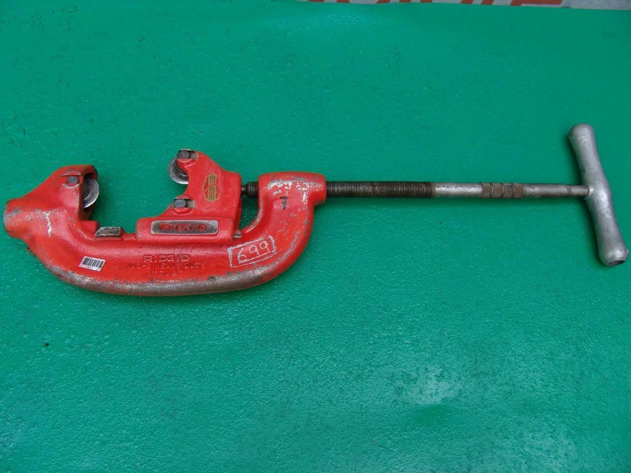 Ridgid 3-S 1 to 3 inch Pipe Cutter Mint Condition   #7