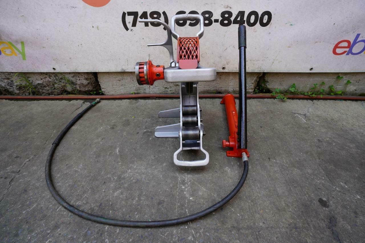 Ridgid 258 Hydraulic Pipe Cutter Saw Works Fine  #3