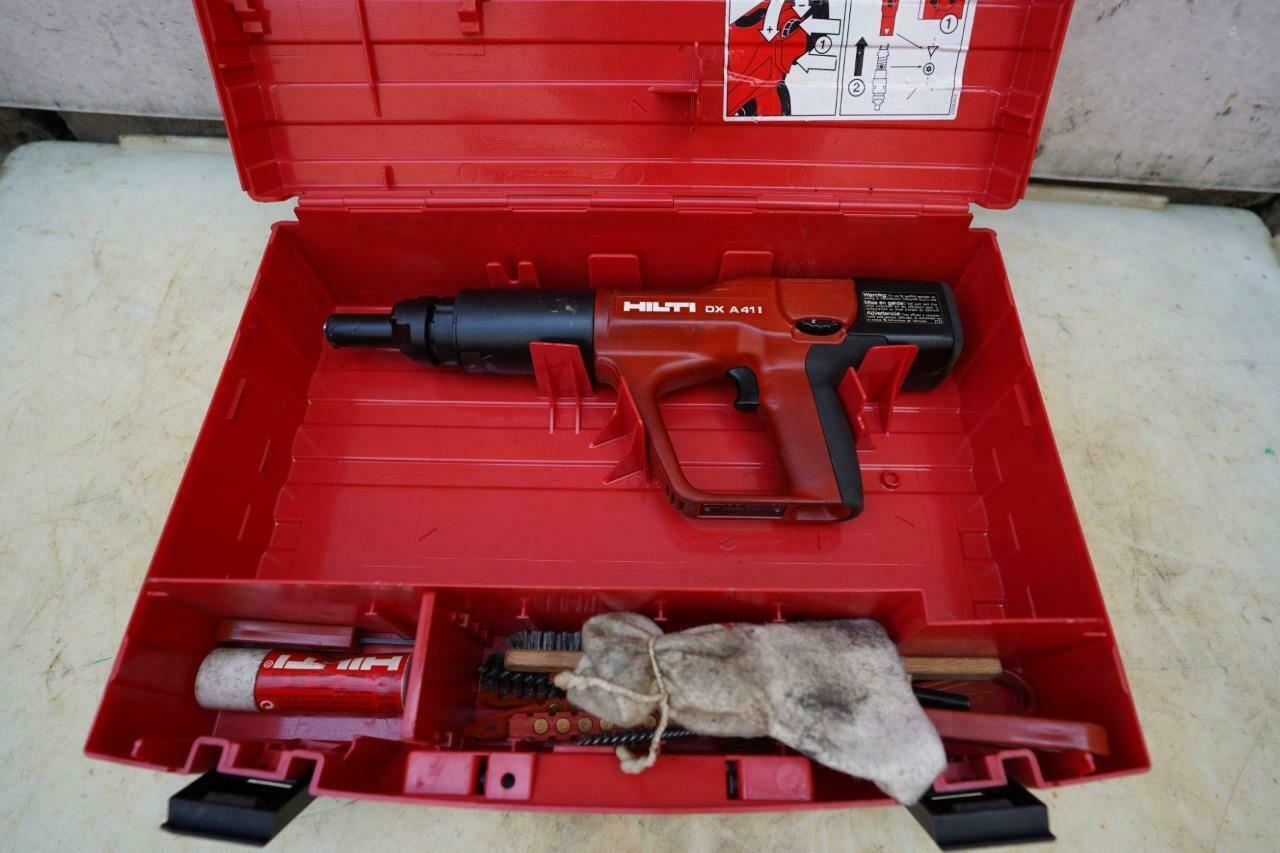 Hilti DX A41 Powder Actuated Nail Stud Gun Works Fine    #2
