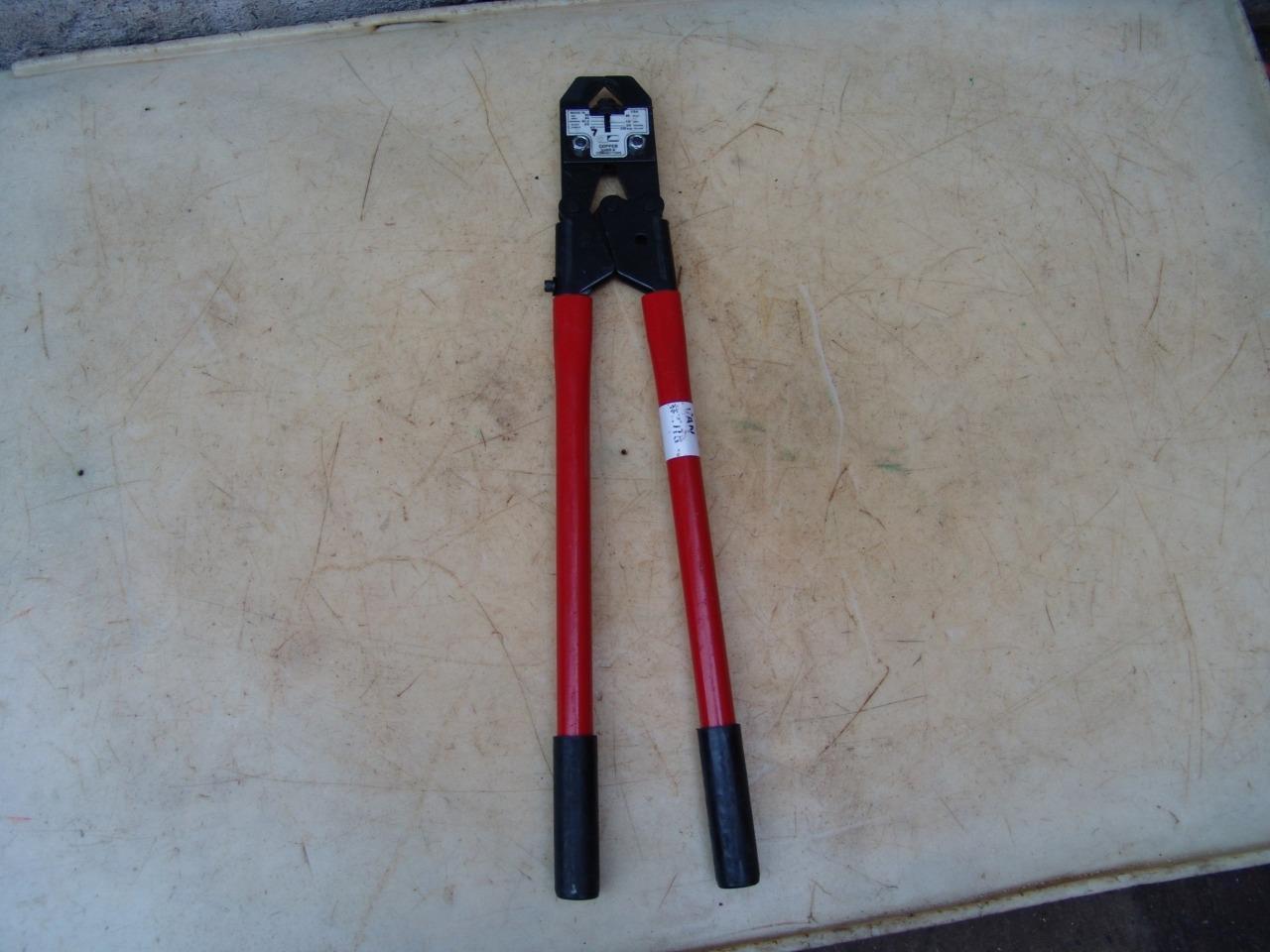 Jenny Tools 25 Aluminum Luv & Connectors Crimping Tool USA No. 5050 #7