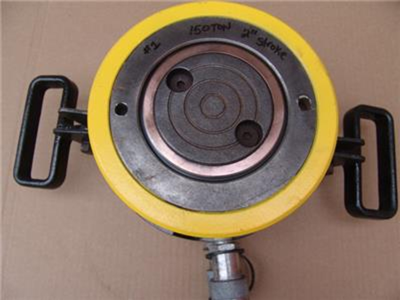 ENERPAC 150 TON DOUBLE ACTING HYDRAULIC CYLINDER 2 INCH STROKE MODEL RR-1502  #1