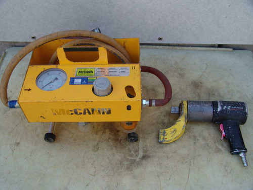 Raptor 2000 Torcup Pneumatic Torque Wrench Works Fine   Unit #11
