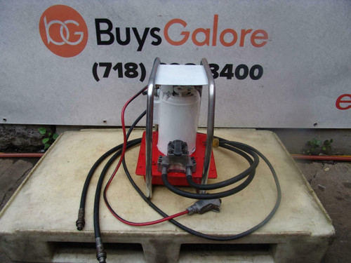 Enerpac EER441 1hp Electric Hydraulic Pump Double Acting 10,000 PSI Works Great