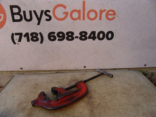 Ridgid 44-S  Pipe Cutter 2 1/2 to 4 inch Nice Shape