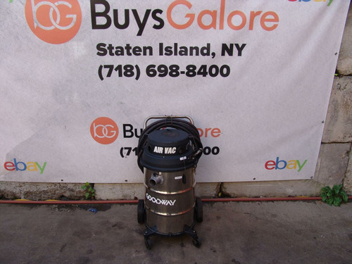 Goodway HVAC Vacuum Cleaner Air Powered Works Great