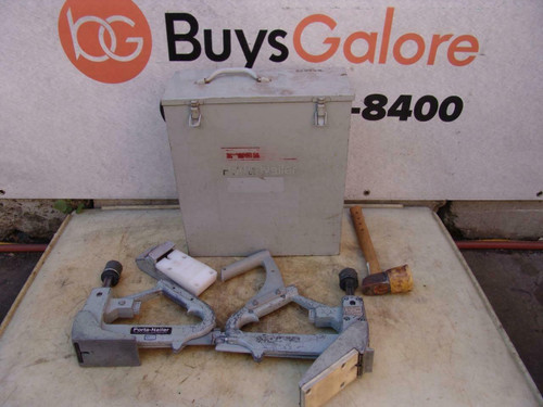 Porta-Nailer set of 2  Hardwood Flooring Cleat Nailer Works Fine