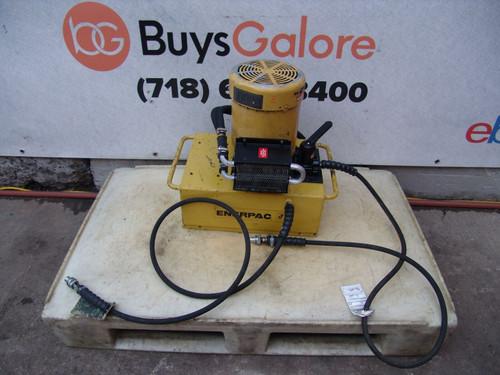 Enerpac Hydraulic Pump for Pipe Bender 3 HP 10,000psi Model PEM-5205H 5 gal #2
