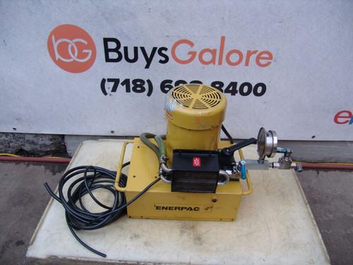 Enerpac Hydraulic Pump for Pipe Bender 3 HP 10,000psi Model PEM-5205H 5 gal #3