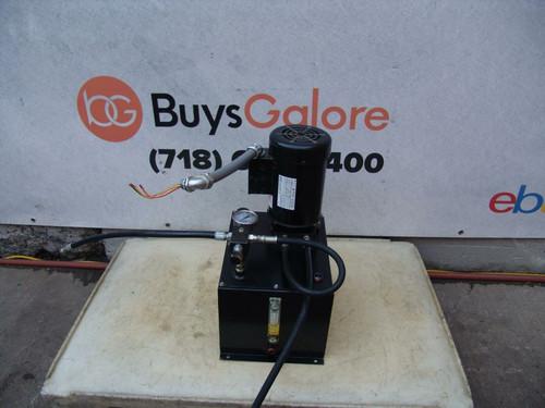 Hydraulic Pump 3 HP 3,000psi Enerpac Greenlee 3 Phase Works Fine