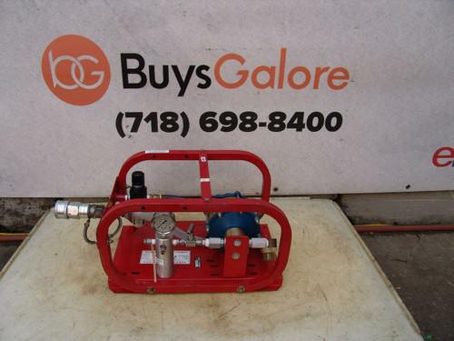 Texas Industrial Specialties Rice Hydrostatic Pressure Tester Pump Works Great bg2