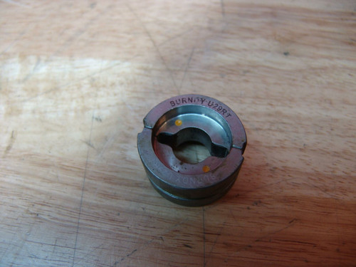 Burndy U-29RT Crimping Die for Crimper Greenlee   Great Shape