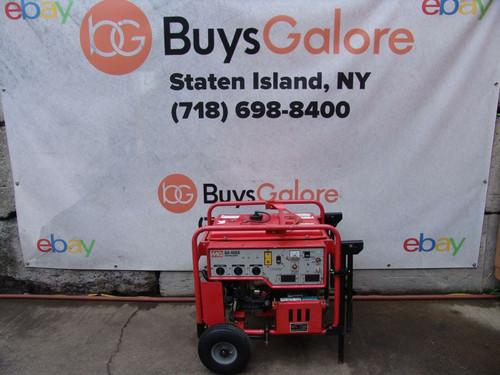 Multiquip MQ GA-6HEB 6000 Watts Generator 120/240 volts Honda Motor   #6