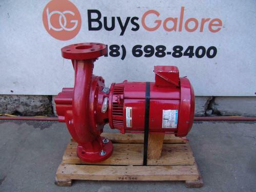 Bell & Gossett Series e-80 Marathan 7.5HP Motor & Pump 3 x 3 x 9  New