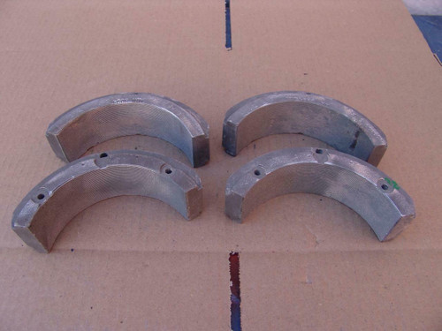 """McElroy Pipe Fusion Machine 5"""" Inserts Set of 4  Model # 809403    #22"""