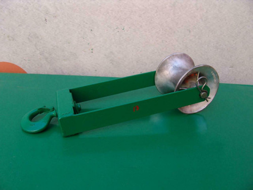 Greenlee Sheave Cable Puller Tugger 4000lbs Nice Shape #13