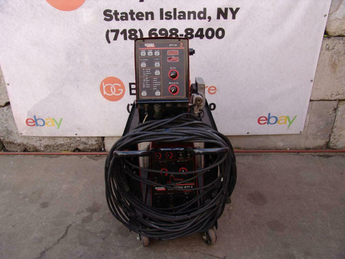 Lincoln Invertec STT II Welder and STT-10 Wire Feeder Nice Shape   #2